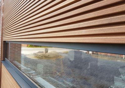 Thermowood - gevel bekleden in hout